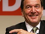 Sigmar Gabriel Gerhard Schröder SPD GEtty