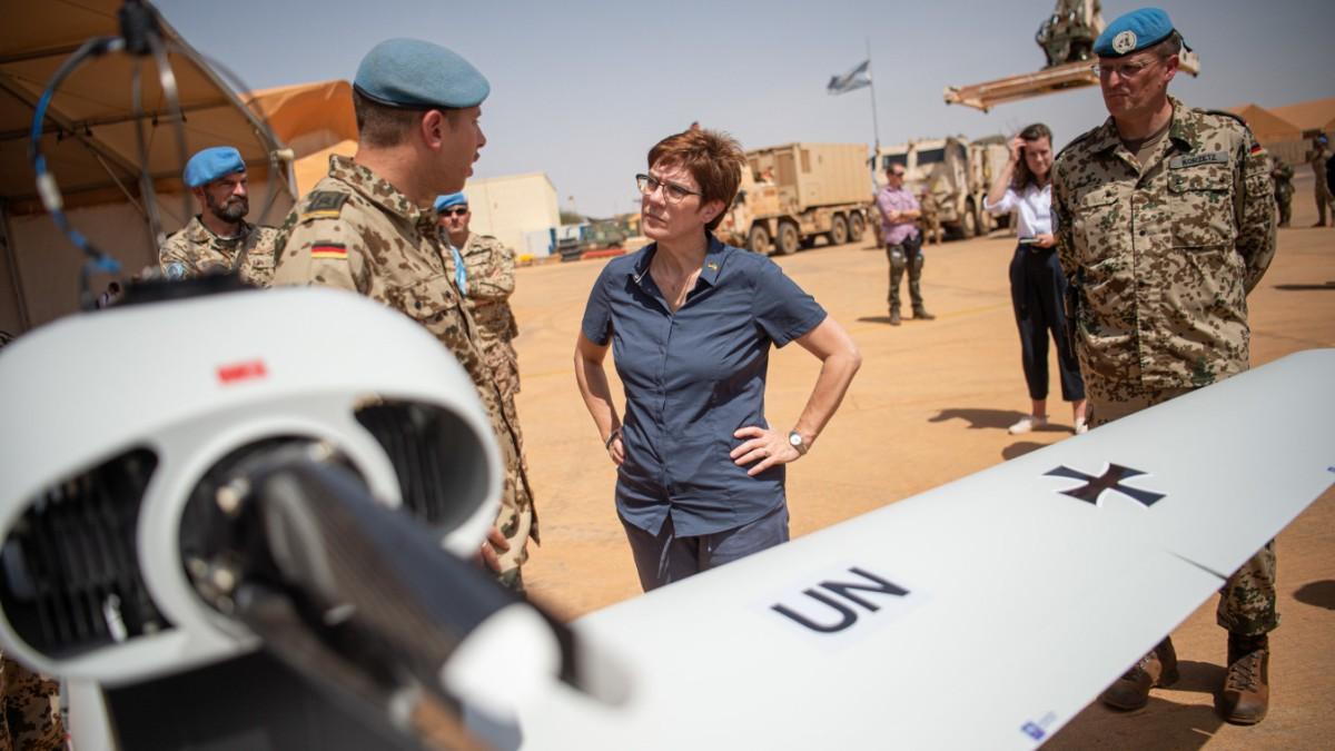 Bundeswehr: AKK will Mali-Einsatz verlängern
