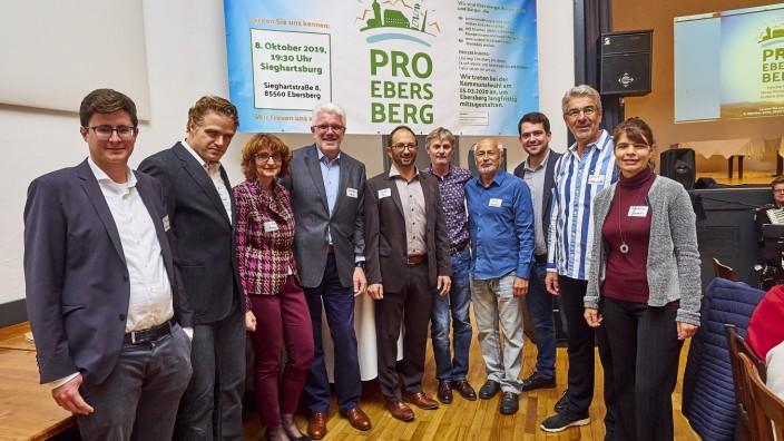 Pro Ebersberg Liste stellt sich vor.