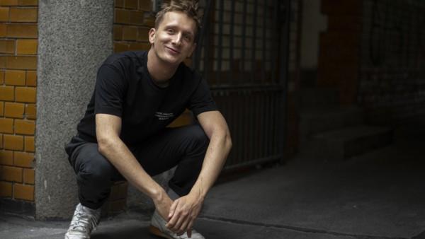 Kraftklub-Frontmann Felix Brummer