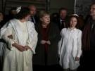 Merkel nimmt an Mahnwache teil (Vorschaubild)