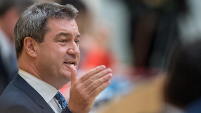 Regierungserklärung Markus Söder im Landtag