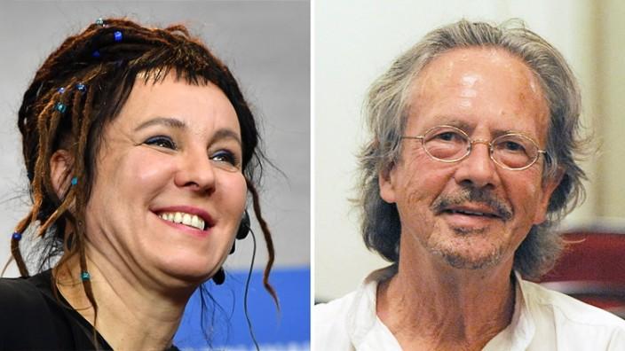 Schwedische Akademie: Literatur-Nobelpreise für Tokarczuk und Handke