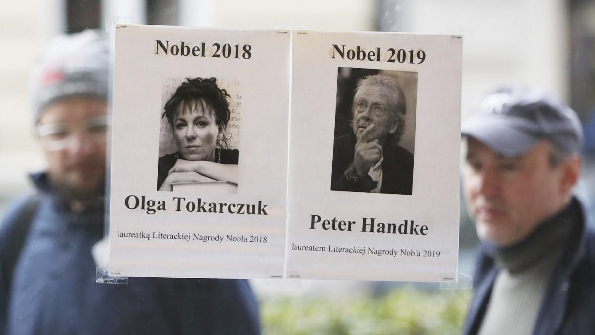 Literaturnobelpreis für Handke und Tokarczuk