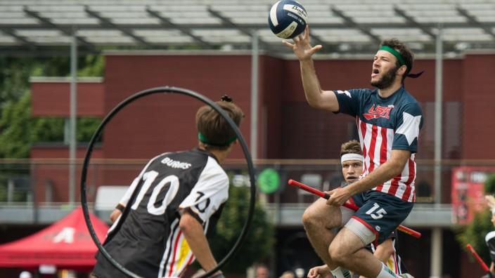 Quidditch Weltmeisterschaft in Frankfurt am Main