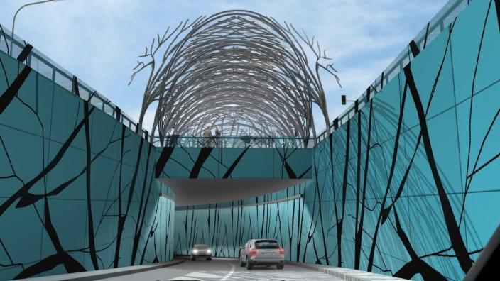 Tunnel B2 B2-Tunnel Starnberg Animationen Staatliches Bauamt Weilheim