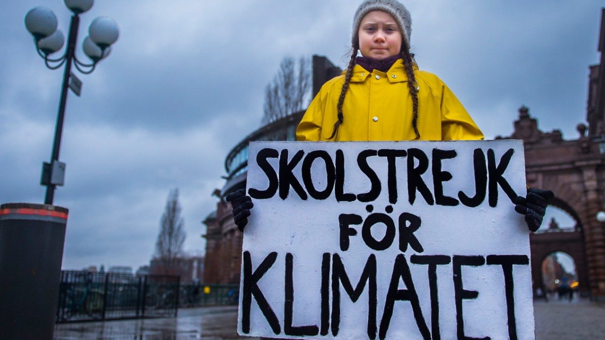 """Greta Grotesk"": Schreiben wie Greta Thunberg"