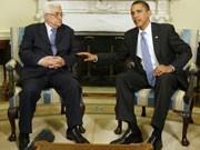 Palästinenserpräsident Mahmud Abbas (links) im Weißen Haus mit US-Präsident Barack Obama.Reuters