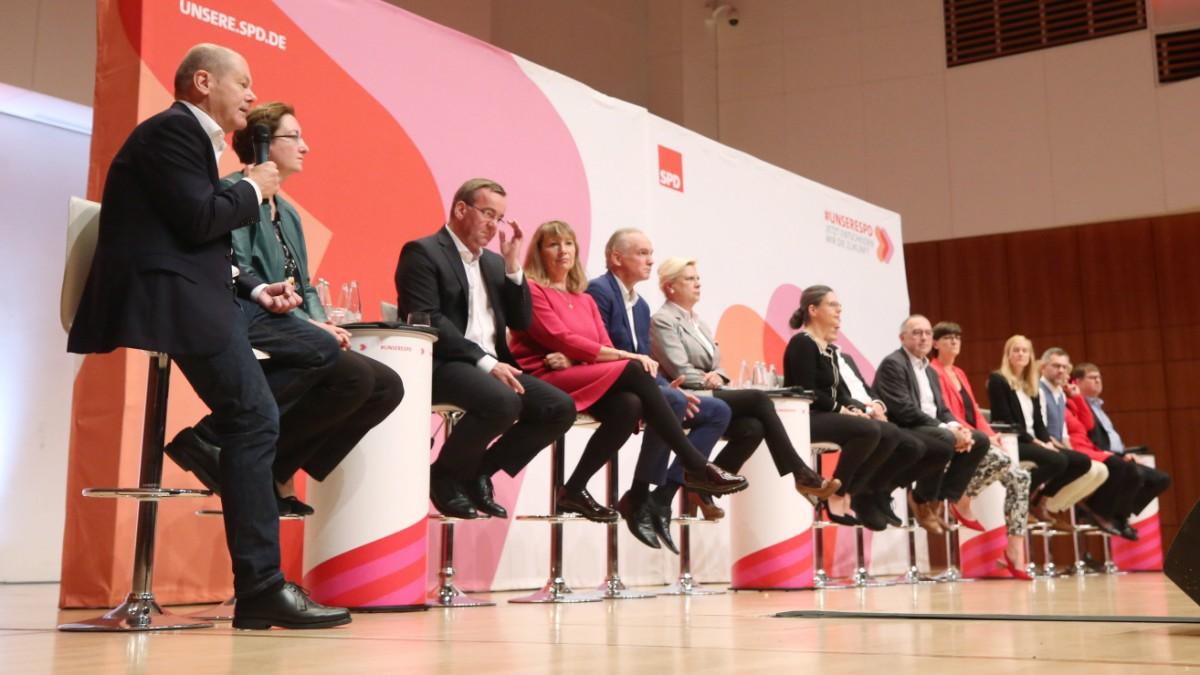 SPD-Regionalkonferenzen: Szenen einer Selbstfindung
