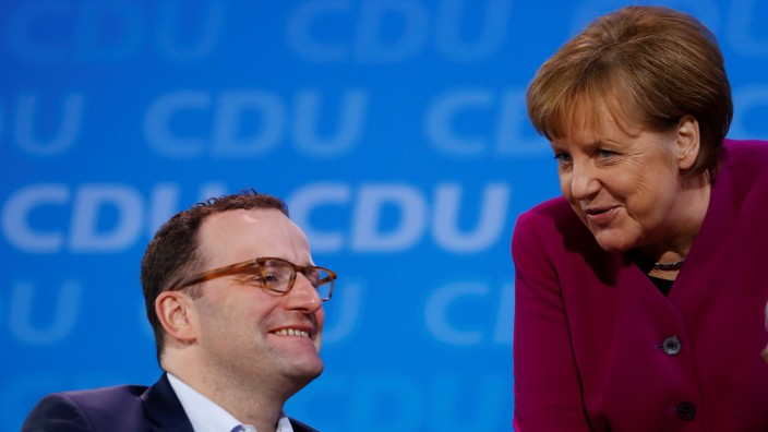 Christian Democratic Union (CDU) party congress in Berlin