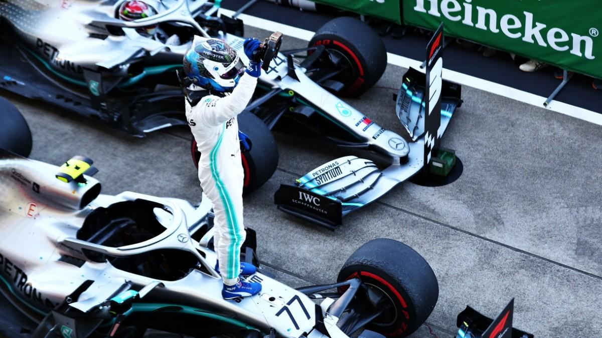 Formel 1: Bottas bestraft Fehler der Ferrari-Piloten