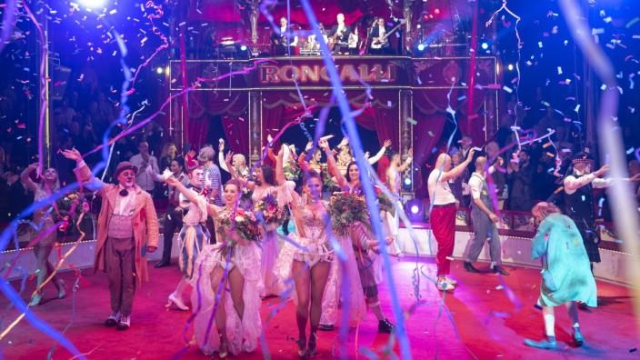 Die Premiere 2019 beim Circus Roncalli in München