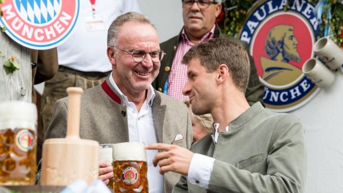 Oktoberfest - FC Bayern auf der Wiesn