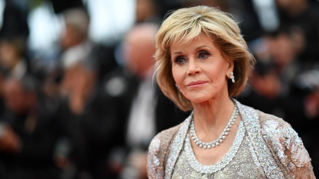 Jane Fonda: Freitags vor dem Kapitol