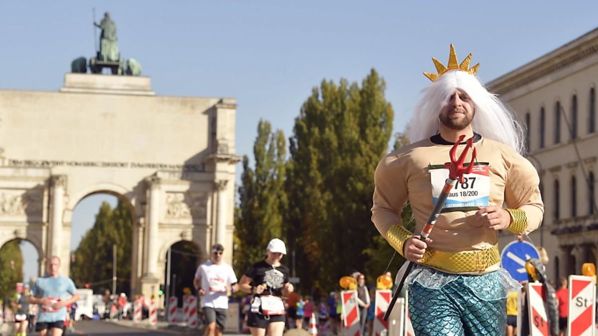 München Marathon: Straßner gewinnt - 21000 Teilnehmer