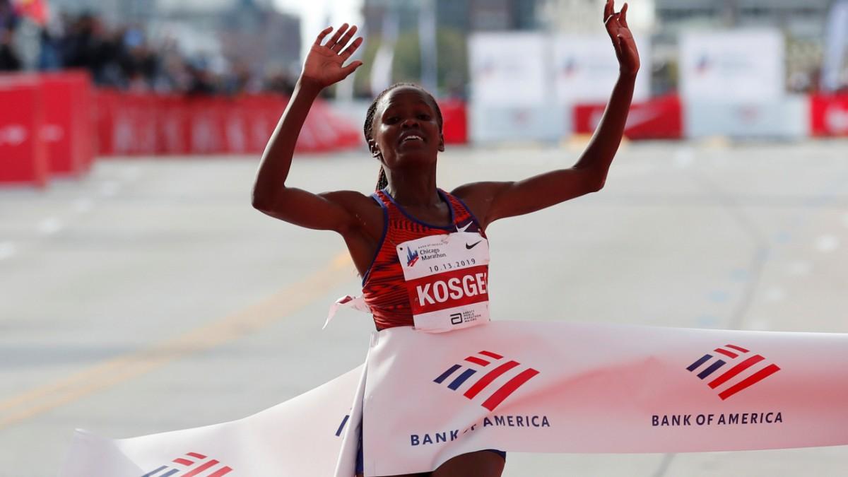 Kosgei rennt neuen Marathon-Weltrekord