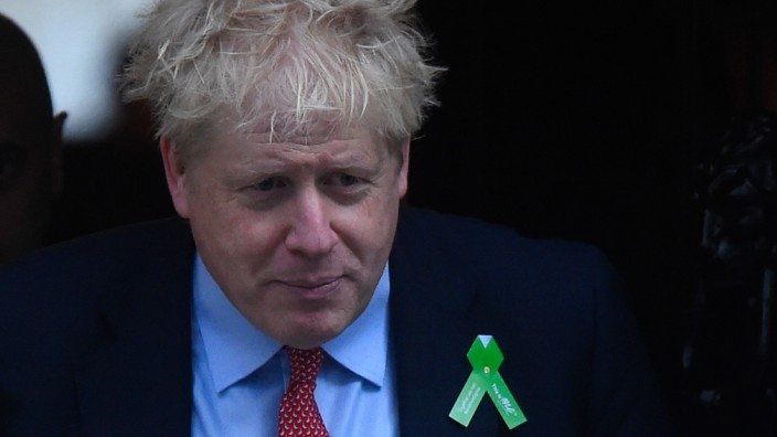Sprecher - Johnson tritt bei Schlappe im Parlament nicht zurück