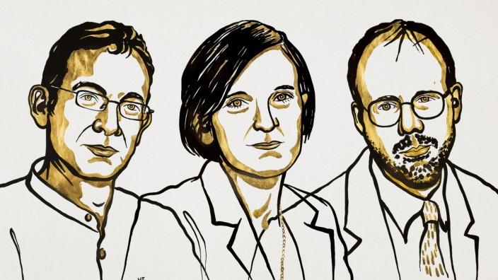 Armut: Wirtschaftsnobelpreis geht an Forscher-Trio für Arbeiten zur globalen Armut