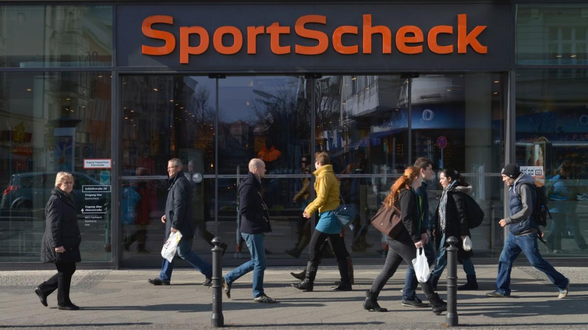 Sport Scheck unter Druck