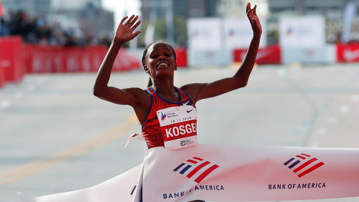 Brigid Kosgei zertrümmert den Weltrekord