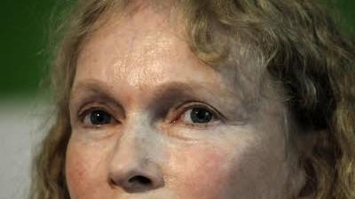 Mia Farrow im Hungerstreik