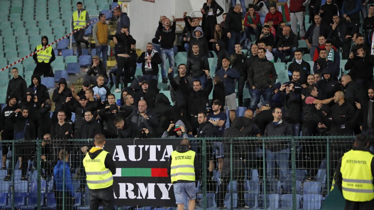 Rassismus-Vorfälle: Bulgarische Fans festgenommen