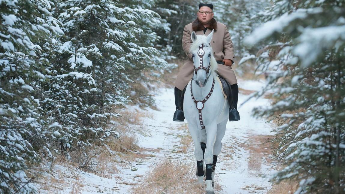 Großer Häuptling Kim Jong-un