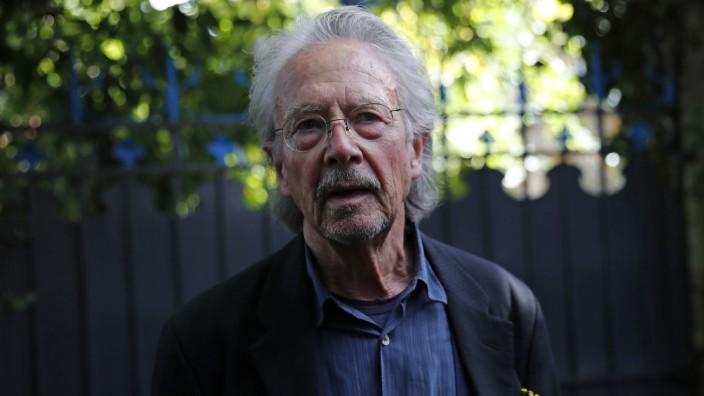 Literaturnobelpreisträger Handke