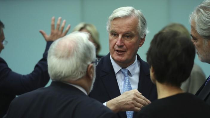 Brexit-Verhandlungen in Brüssel
