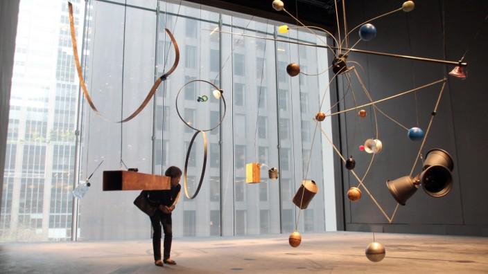 Erneuertes MoMA in New York wird wieder geöffnet