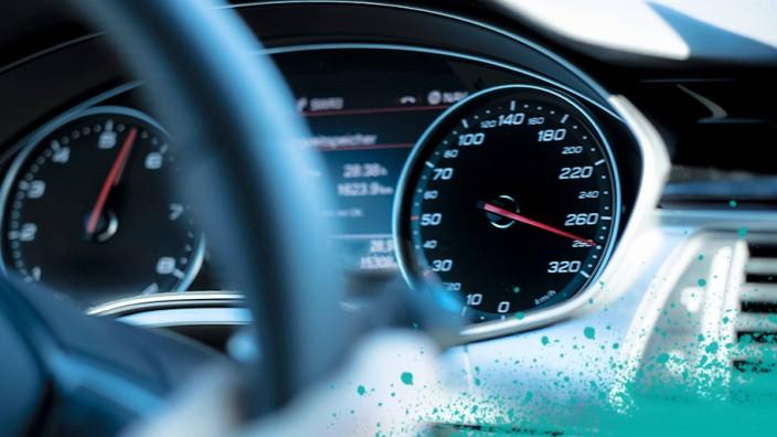 Car dashboard tachos speed PUBLICATIONxINxGERxSUIxAUTxHUNxONLY HAM000107