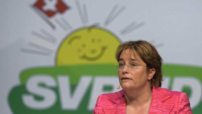 Delegiertenversammlung der SVP in der Schweiz