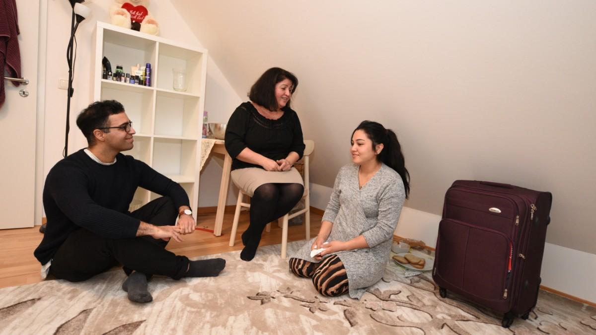 Münchnerin gibt obdachlosen Frauen ein Zuhause