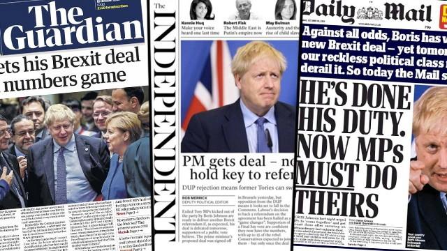 """Brexit: """"Sie sollen endlich gehen"""" - Die Presseschau"""