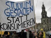 Bologna-Reform Bachelor in Fachidiotie Proteste Studenten, ddp