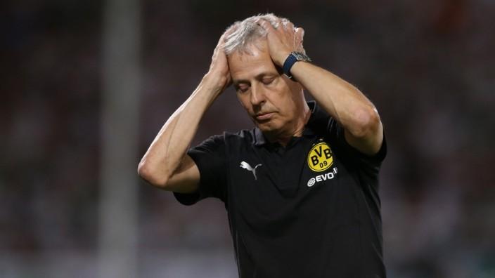 Fürth, 20.08.2018, firo, Fußball, 1.Bundesliga, Saison 2018/2019,DFB-Pokal, 1.Runde, SpVgg Greuther Fürth - BVB, Borussia Dortmund,