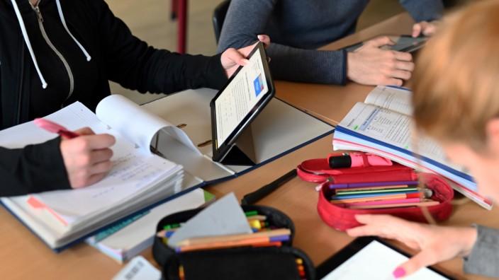 Tablets im Schulunterricht