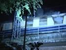 Berlin: Flammeninferno in Freiburger Fan-Zug (Vorschaubild)