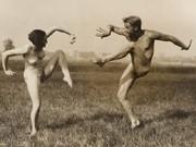 Gerhard Riebicke, Paar beim Ausdruckstanz, um 1930