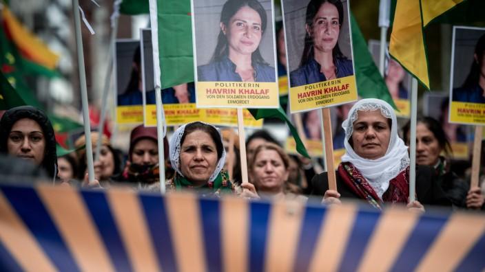 Kurden-Proteste in Köln