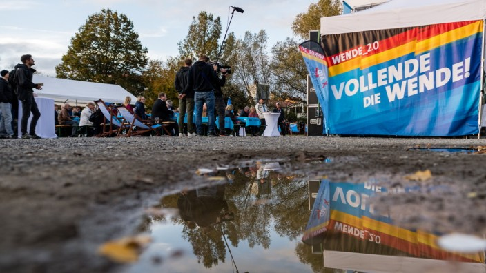 The AfD Campaigns In Thuringia State Elections