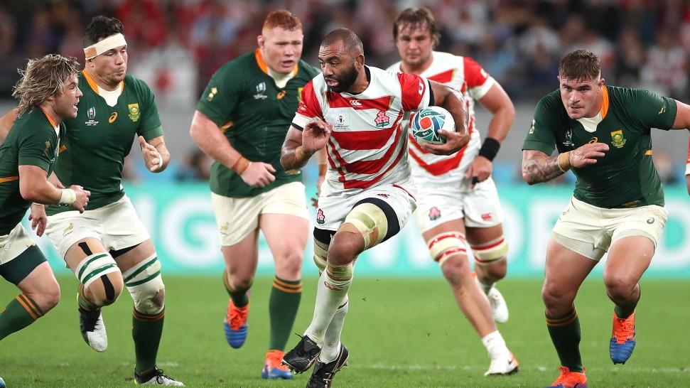 Rugby-WM in Japan: Abgeprallt am Riegel der Riesen