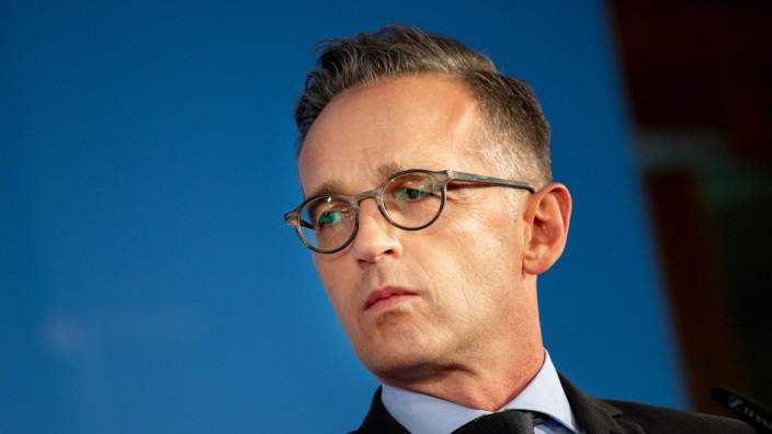 Außenminister Heiko Maas 2019 in Berlin