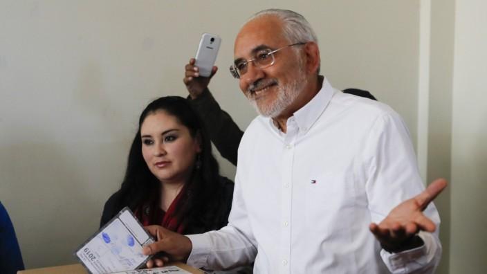 Wahlen in Bolivien