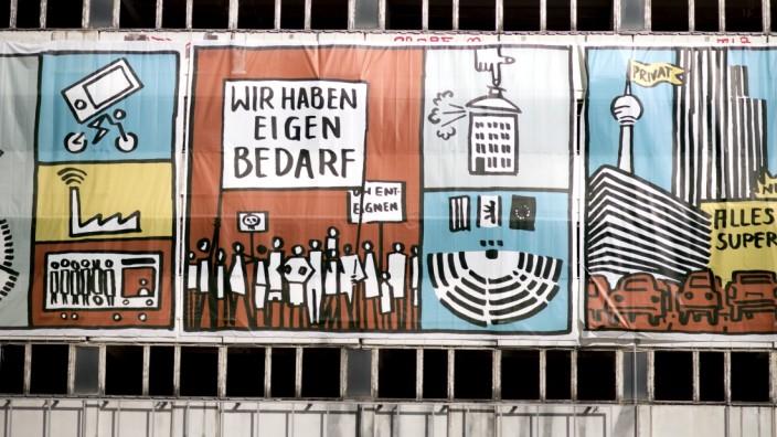 Berlin: Protest gegen hohe Mieten in Berlin-Mitte