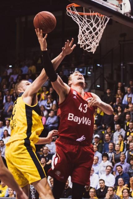 easyCredit-BBL: EWE Baskets Oldenburg vs. FC Bayern Muenchen Basketball, 20.10.2019 Leon Radosevic (FC Bayern Basketball
