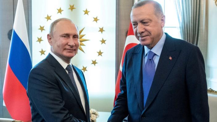 Putin und Erdogan bei Treffen im September 2019