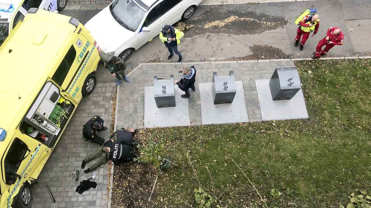Oslo - Mann überfährt mit Rettungswagen Passanten