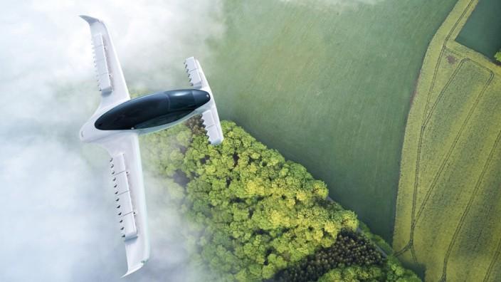 Elektro-Flugtaxi Lilium testet 300 km/h