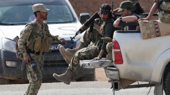 Debatte über internationale Sicherheitszone in Nordsyrien